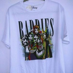 Disney Villains Baddies Unisex Graphic T-shirt